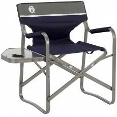 Стул с подставкой Coleman Deck Chair with Table