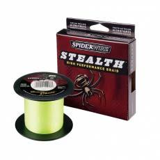 Шнур плетеный Spiderwire Stealth 1800M Tracer Yellow (желтый)