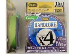 Шнур Dual Hardcore X4 200m #0.8 6.4Kg (0.153mm) (H3241-G)