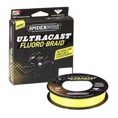 Шнур плетеный Spiderwire Ultracast Fluoro-Braid 270M Yellow (желтый)