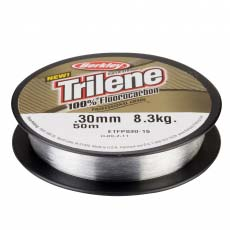 Леска Berkley Trilene Flurocarbon Clear 50м