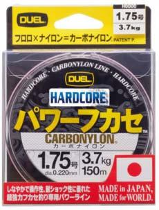 Леска Hardcore Carbonylon 150m #1.75 3.7Kg (0.220mm) (H3369-MG)