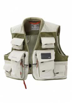 Жилет Simms Vertical Mesh Vest, цвет - Khaki