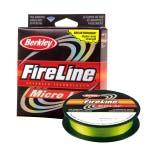 Шнур плетеный Berkley Fireline Micro Ice 45M GREEN 0,10mm 3.6kg