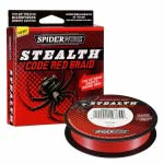 Шнур плетеный Spiderwire Stealth 270M Red (красный) 0,12 мм