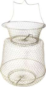 Садок Mifine диаметр 45см металлический с крышкой на пружине