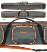 Чехол-сумка для рыболовных снастей 3-секционный 135 см полужесткий