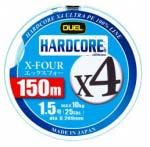 Шнур Dual Hardcore X4 150m #1.0 8.0Kg (0.171mm) (H3275-MG)
